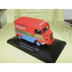 CITROEN TYPE HY-IN2 FOURGON 1600 BIBLIOBUS 1970 ELIGOR 1:43 blister