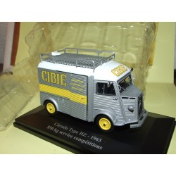 CITROEN TYPE HZ SERVICE COMPETITION 1963 CIBIE ELIGOR 1:43 blister