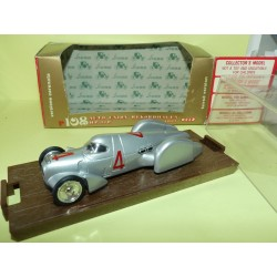 AUTO UNION RECORD 1937 BRUMM R108 1:43
