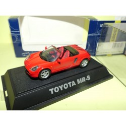 TOYOTA MR-S Rouge EBBRO 99 1:43