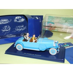 VOITURE TINTIN N°05 LINCOLN TORPEDO CIGARES DES PHARAONS ATLAS 1:43
