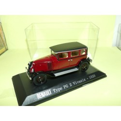 RENAULT TYPE PG 2 VIVASIX 1928 Bordeaux UNIVERSAL HOBBIES Collection M6 1:43