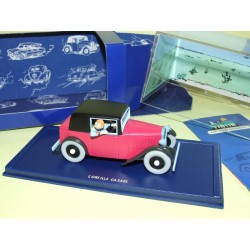 VOITURE TINTIN N°13 COUPE SPIDER OREILLE CASSE ATLAS 1:43