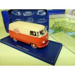 VOITURE TINTIN N°32 VW COMBI L'AFFAIRE TOURNESOL ATLAS 1:43