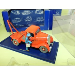VOITURE TINTIN N°59 DEPANNEUSE SIMOUN CHEVROLET PICK UP  ATLAS 1:43