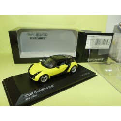 SMART ROADSTER COUPE 2003 Jaune MINICHAMPS 1:43