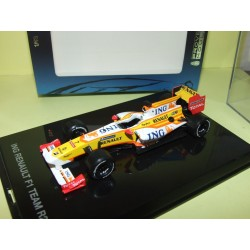 RENAULT F1 R29 2009 F. ALONSO N. PIQUET PROVENCE MOULAGE 1:43