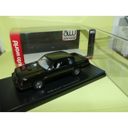 BUICK GRAND NATIONAL 1985 Noir NEO AUTO WORLD 1:43