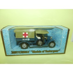 CROSSLEY RAF TENDER AMBULANCE  MATCHBOX Y-13 1:47
