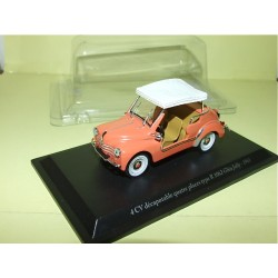 RENAULT 4CV DECAPOTABLE 4 PLACES R1062 GHIA JOLLY ELIGOR PRESSE 1:43