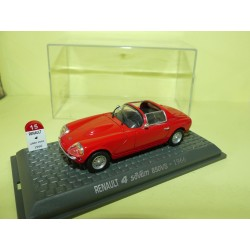RENAULT 4 SOVAM 850S 1966 Rouge UNIVERSAL HOBBIES 1:43  M6 Interaction