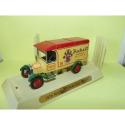 FORD MODEL TT VAN 1926 BECK'S MATCHBOX 1:43 sans boite