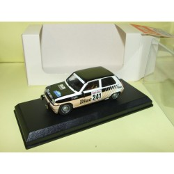 RENAULT 5 ALPINE TURBO Gr.N RALLYE DU VAR 1983 DERIU MINI RACING Kit Monté 1:43
