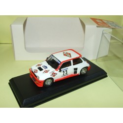 RENAULT 5 TURBO Gr.B RALLYE DES GARRIGUES 1985 TOUREN MINI RACING Kit Monté 1:43