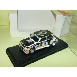 RENAULT 5 TURBO Gr.B RALLYE TOUR DE CORSE 1984 CHATRIOT MINI RACING Kit Monté 1:43