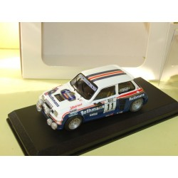 RENAULT 5 TURBO RALLYE COSTA BRAVA 1985 ERJANCZ MINI RACING Kit Monté 1:43