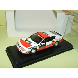RENAULT ALPINE V6 GTA EUROPA CUP 1987 WEST MINI RACING Kit Monté 1:43