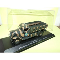 VEHICULE MILITAIRE N°11 CITROEN TYPE 23 FRANCE 1940 EAGLEMOSS 1:43