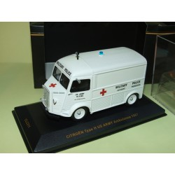 CITROEN TYPE H US ARMY AMBULANCE 1967 MILITAIRE IXO CLC211 1:43