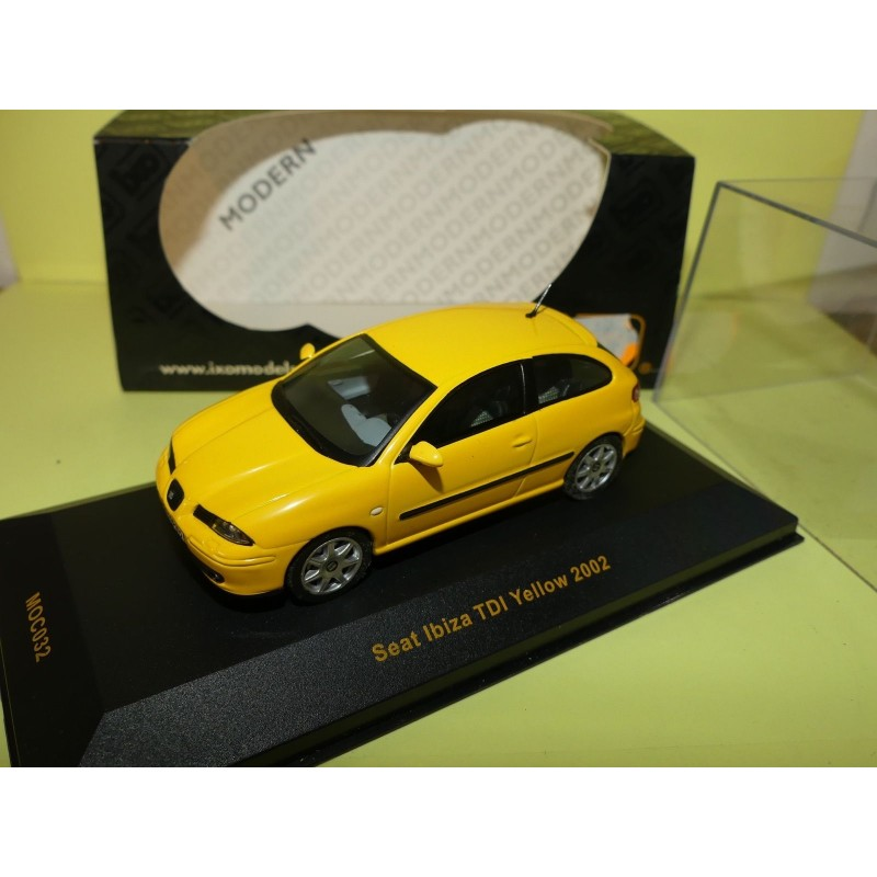 seat ibiza iii tdi 2002 jaune ixo moc032 1 43 43miniauto. Black Bedroom Furniture Sets. Home Design Ideas