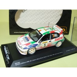 TOYOTA COROLLA WRC RALLYE DE FINLANDE 2000 SOLBERG IXO RAC148 1:43 Abd