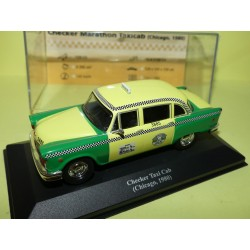 CHECKER TAXI CAB Chicago 1980 1995 ALTAYA 1:43