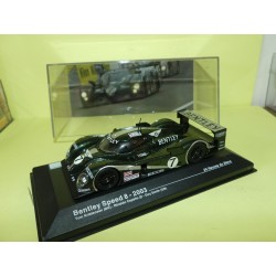 BENTLEY SPEED 8 N°7 LE MANS 2007 ALTAYA 1:43 1er