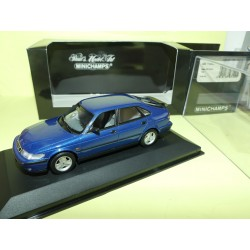SAAB 9-3-5 DOOR 1999 Bleu MINICHAMPS 1:43