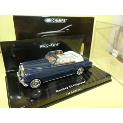 BENTLEY S2 CABRIOLET 1960 Bleu MINICHAMPS 1:43