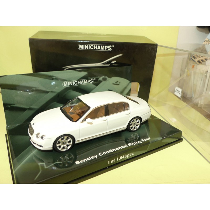 BENTLEY CONTINENTAL FLYING SPUR 2005 Blanc MINICHAMPS 1:43