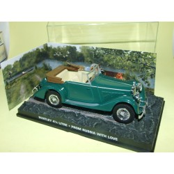 BENTLEY 4,25 LITRE FROM RUSSIA WITH LOVE JAMES BOND ALTAYA 1:43