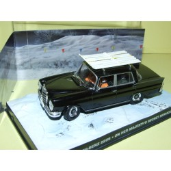 MERCEDES 220 S On Her Majesty's Secret Service J. BOND ALTAYA 1:43