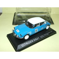 CITROEN DS 21 RALLYE LONDON SYDNEY 1968 ALTAYA 1:43