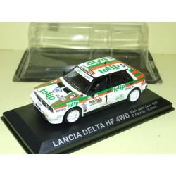 LANCIA DELTA HF 4WD RALLYE DELLA LENA 1987 CERRATO ALTAYA 1:43