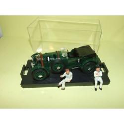 BENTLEY N°1 LE MANS 1929 BRUMM 1:43 Arrivée 1er avec 2 figurines