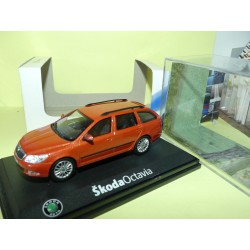 SKODA OCTAVIA COMBI II Phase 2  Orange ABREX 1:43