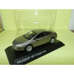 PEUGEOT 407 COUPE 2005 Champagne NOREV 1:43 blister