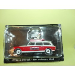 CITROEN ID BREAK RTL Tour De France 1963 NOREV pour ATLAS 1:43