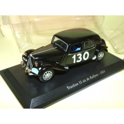 CITROEN TRACTION 15 SIX RALLYE LYON CHARBONNIÈRES 1954  UNIVERSAL HOBBIES 1:43 blister