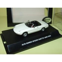 ALFA ROMEO SPIDER 2000 VELOCE Rouge MAXI CAR 1:43