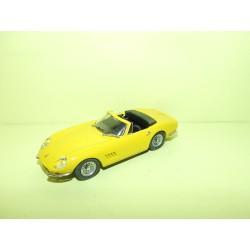 FERRARI 275 GTB/4 SPYDER  Jaune BEST 9003 1:43 sans boite
