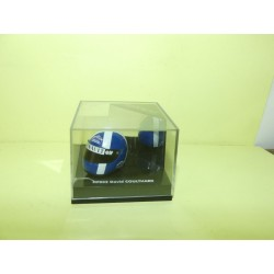 CASQUE FORMULE 1 D. COULTHARD HELMET ONYX HF002 1:12 boitage renault