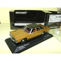 DODGE MONACO 1974 Gold MINICHAMPS 1:43