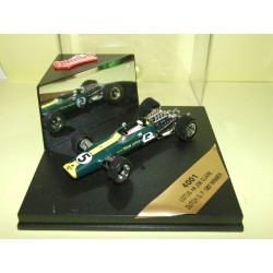 LOTUS 49 GP D'AFRIQUE 1968 G. HILL QUARTZO 4004 1:43 Arrivé 1er World Champion