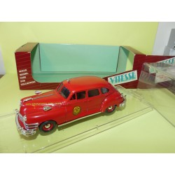 CHRYSLER WINDSOR 1947 POMPIERS DE SAN FRANCISCO VTESSE 373 1:43