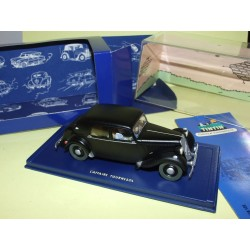 VOITURE TINTIN N°22 CITROEN TRACTION 15/6 L'AFFAIRE TOURNESOL ATLAS 1:43