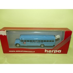 BUS BLUE BIRD US SCHOOL BUS HELPINGS HANDS HERPA 876001 HO 1:87