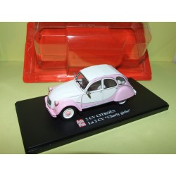CITROEN 2CV N°063 CHARLY GIRLIE AUTO PLUS 1:43