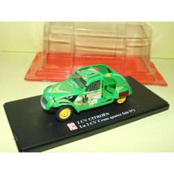 CITROEN 2CV N°067 CROSS QUATRE FOIS N°1 AUTO PLUS 1:43
