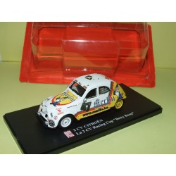 CITROEN 2CV N°068 RACING CUP BETTY BOOP AUTO PLUS 1:43